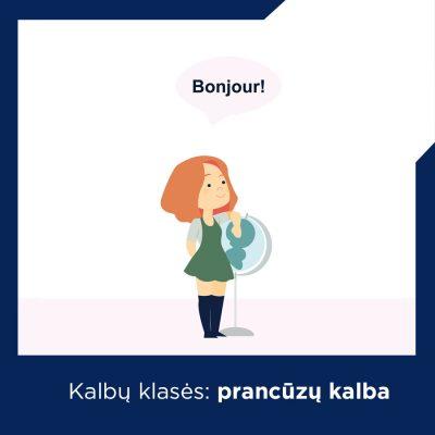 Kalbų klasės: Prancūzų kalba