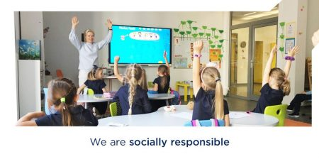 We are Socially responsible - Erudito licėjus